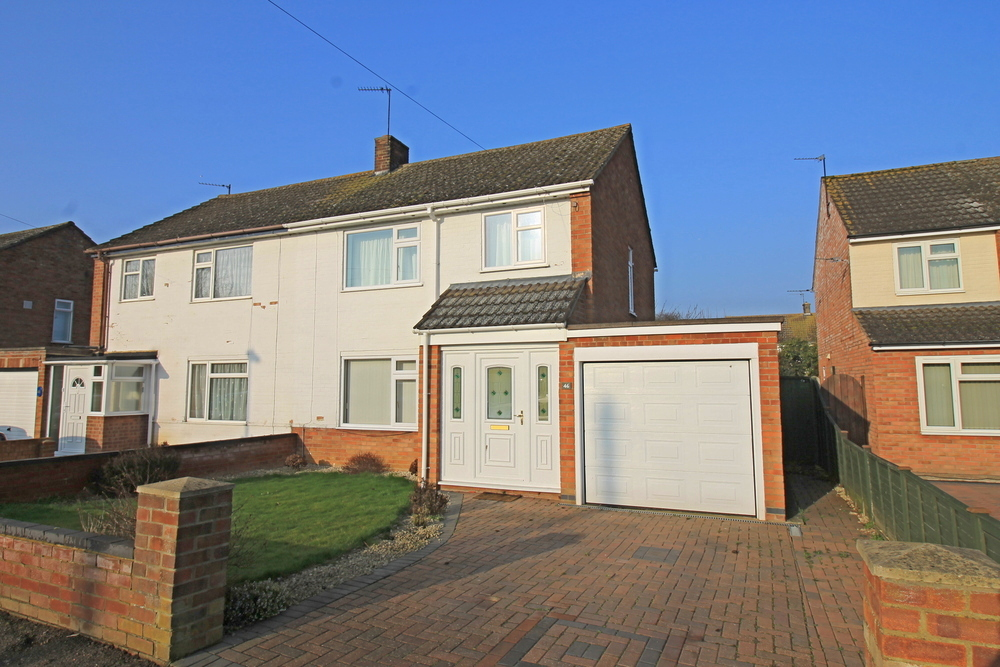 Three bedroom semi detached house on Tudor Road, Godmanchester