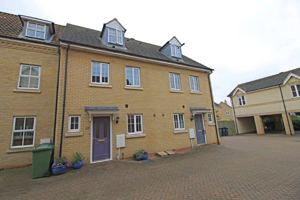 Extended town house in Roman Way Godmanchester
