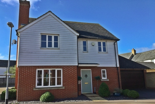 Detached family home in Eynesbury Manor