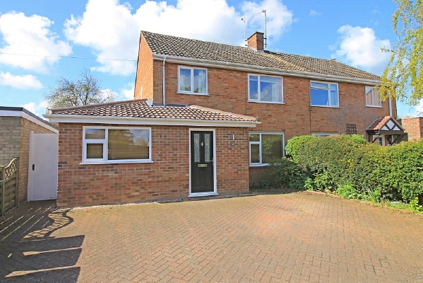 Extended three bedroom house on Tudor Road, Godmanchester