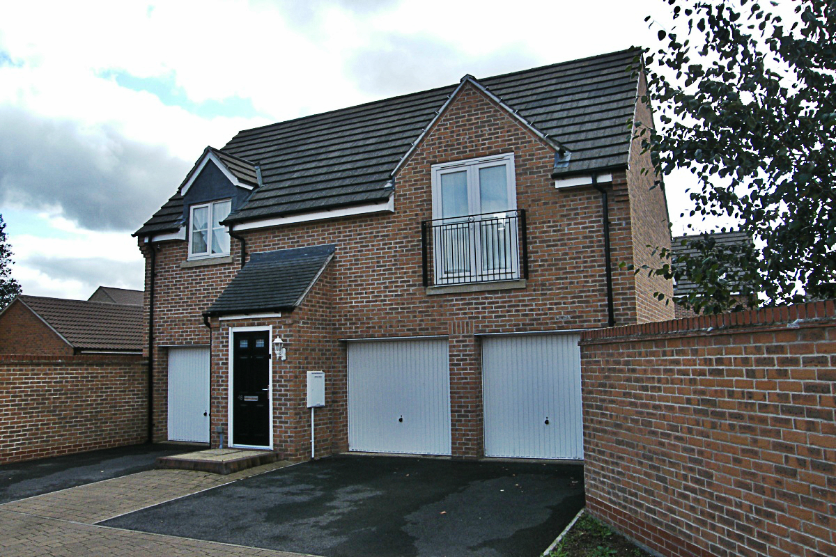 Detached coach house in Comben Drive, Godmanchester.