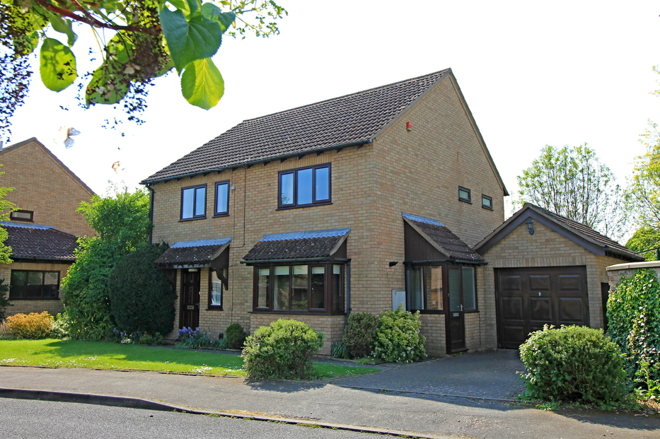 Detached house in Duck End, Godmanchester