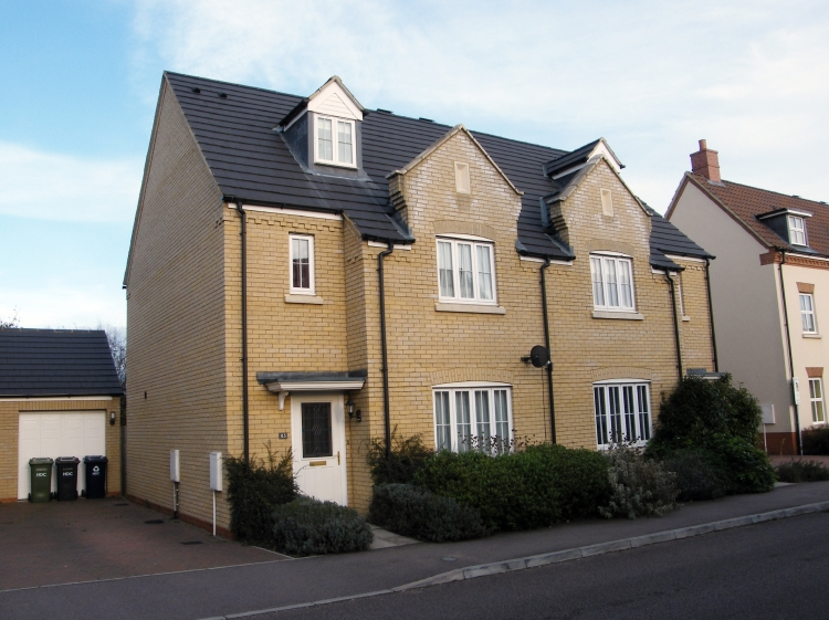 Four Bedroom house Godmanchester front