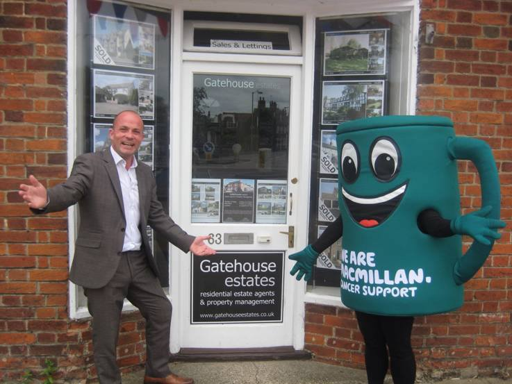 Gatehouse Estates - We are Macmillan Cancer Support